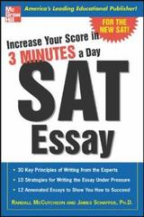 Increase Your Score in 3 Minutes a Day: SAT Essay 1st edition 9780071440424 0071440429