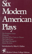 Six Modern American Plays 1st edition 9780075536604 0075536609
