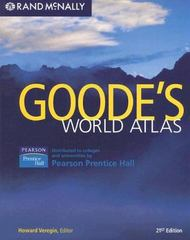 Goode's World Atlas 21st Edition 9780136128243 0136128246