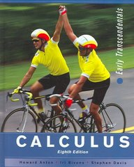 Calculus 8th edition 9780471472445 0471472441