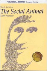 The Social Animal 10th Edition 9781429203166 1429203161