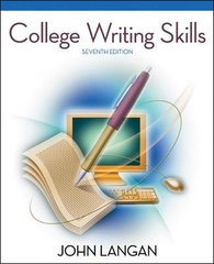 College Writing Skills 7th edition 9780073384092 0073384097