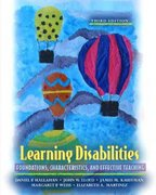 Learning Disabilities 3rd Edition 9780205388677 0205388671