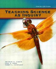 Teaching Science as Inquiry 10th edition 9780131181656 0131181653