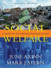 Social Welfare 7th edition 9780205522156 0205522157