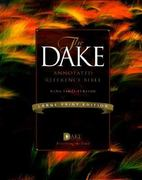 The Dake Annotated Reference Bible 0 9781558291232 1558291237
