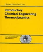 Introductory Chemical Engineering Thermodynamics 1st edition 9780130113863 0130113867
