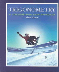 Trigonometry 1st Edition 9780201771749 0201771748