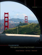 Fundamental Managerial Accounting Concepts 4th edition 9780073526799 0073526797