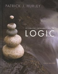 A Concise Introduction to Logic 10th edition 9780495503835 0495503835