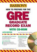 How to Prepare for the GRE 16th edition 9780764178788 0764178784