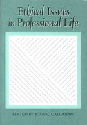 Ethical Issues in Professional Life 1st Edition 9780195050264 0195050266
