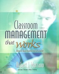 Classroom Management That Works 0 9780871207937 0871207931