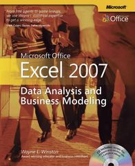 Microsoft Office Excel 2007 1st Edition 9780735623965 0735623961