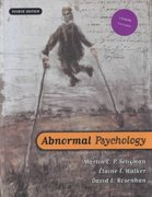 Abnormal Psychology 4th Edition 9780393944594 039394459X