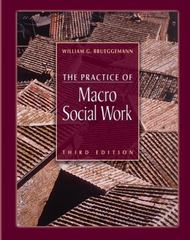 The Practice of Macro Social Work 3rd Edition 9780534575854 0534575854