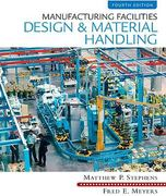 Manufacturing Facilities Design & Material Handling 4th edition 9780135001059 0135001056