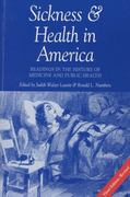 Sickness and Health in America 3rd edition 9780299153243 029915324X