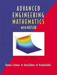 Advanced Engineering Mathematics with MATLAB 2nd edition 9780534371647 0534371647