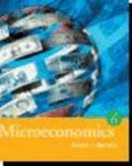 Microeconomics 6th edition 9780618372539 0618372539