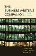 Business Writer's Companion 4th edition 9780312413255 0312413254