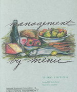 Management by Menu and NRAEF Workbook Package 3rd edition 9780471442370 0471442372