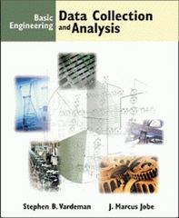Basic Engineering Data Collection and Analysis 1st edition 9780534369576 053436957X