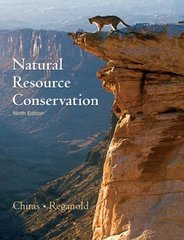 Natural Resource Conservation 9th edition 9780131458321 0131458329