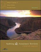 Auditing and Assurance Services 4th edition 9780073137537 0073137537