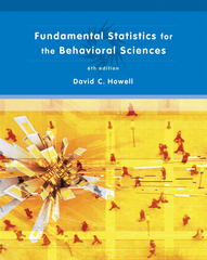 Fundamental Statistics for the Behavioral Sciences 6th Edition 9780495099000 0495099007