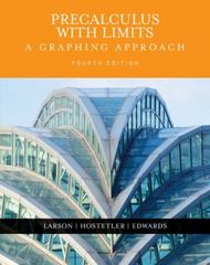 Precalculus with Limits 4th edition 9780618394784 0618394788