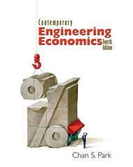 Contemporary Engineering Economics 4th Edition 9780131876286 0131876287