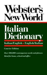 Webster's New World Italian Dictionary 1st Edition 9780139536397 0139536396