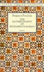 The Autobiography of Benjamin Franklin 1st Edition 9780486111148 0486111148