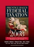Prentice Hall's Federal Taxation: Corporations, Parnerships, Estates, and Trusts 21st edition 9780136156437 0136156436