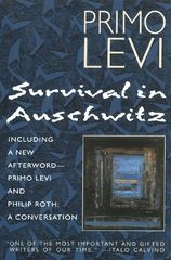 Survival In Auschwitz 1st Edition 9780684826806 0684826801