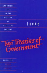 Locke: Two Treatises of Government 1st Edition 9781107298941 1107298946
