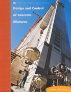 Design and Control of Concrete Mixtures 14th edition 9780893122171 0893122173