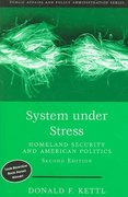 System Under Stress: Homeland Security and American Politics, 2nd Edition 2nd edition 9780872893337 0872893332