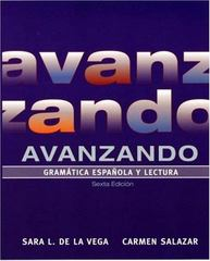 Avanzando 6th edition 9780471699743 0471699748