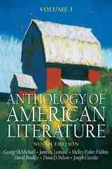 Anthology of American Literature, Volume I 9th edition 9780131987999 0131987992