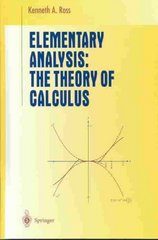 Elementary Analysis 12th edition 9780387904597 038790459X
