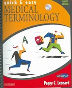 Quick and Easy Medical Terminology 4th Edition 9780721696249 0721696244