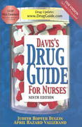 Davis's Drug Guide for Nurses 9th edition 9780803611528 0803611528
