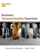 Business Communication Essentials and CD Package 2nd edition 9780131679818 0131679813
