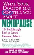 What Your Doctor May Not Tell You about Menopause 0 9780446614955 0446614955
