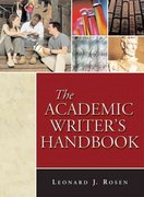 The Academic Writer's Handbook 0 9780321338310 0321338316
