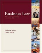 Business Law with UCC Applications Student Edition 11th Edition 9780072960570 0072960574