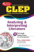 CLEP Analyzing and Interpreting Literature 1st Edition 9780878913435 0878913432