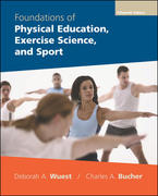 Foundations of Physical Education, Exercise Science, and Sport with PowerWeb 15th Edition 9780073138930 0073138932